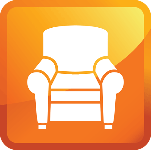 k&c chem-dry upholstery cleaning icon