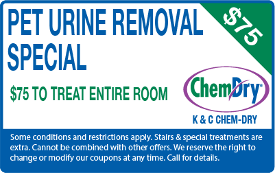 Pet Urine Removal special for $75