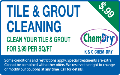 Tile and grout cleaning for $.99 per square foot coupon