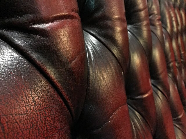 couch after a leather furniture cleaning in atlanta ga