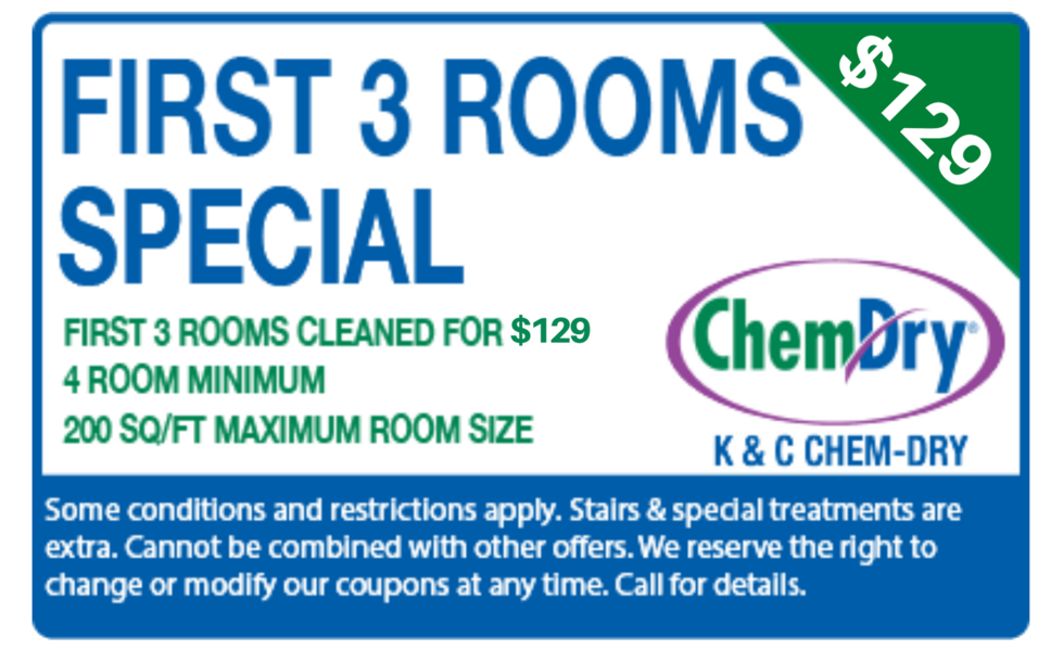first 3 rooms for $129 special coupon